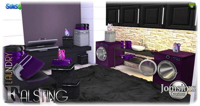 Falsting laundry at Jomsims Creations image 1095 670x355 Sims 4 Updates