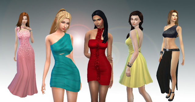 Sims 4 Female Body Clothes Pack at My Stuff