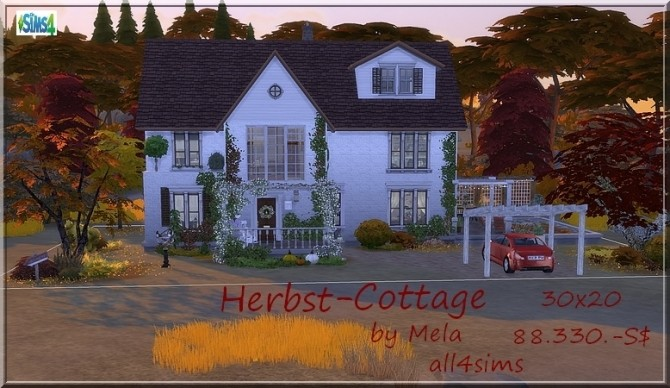 Herbst Cottage by Mela at All 4 Sims image 1109 670x388 Sims 4 Updates
