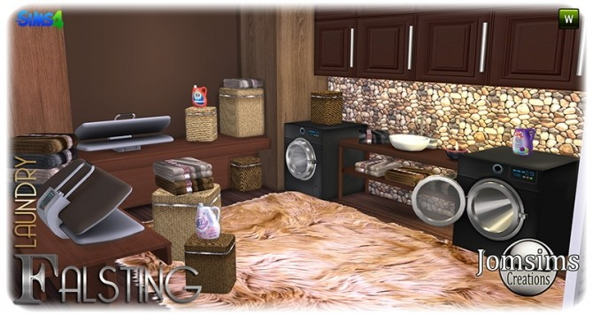 Falsting Laundry At Jomsims Creations 187 Sims 4 Updates