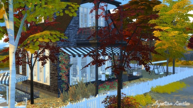 Sims 4 THE COASTAL HOUSE at Angelina Koritsa