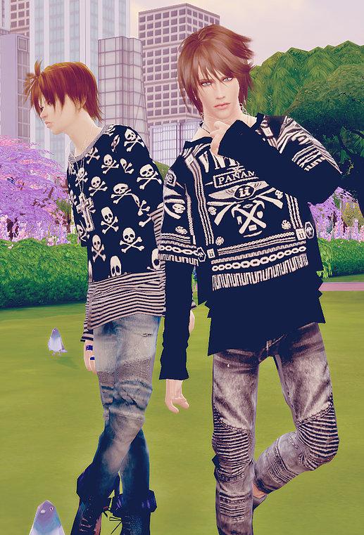 Sims 4 Giruto 13 Layer Tee at Studio K Creation
