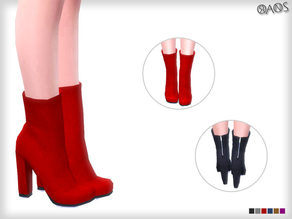 Block Zip Boots by OranosTR at TSR image 1115 Sims 4 Updates