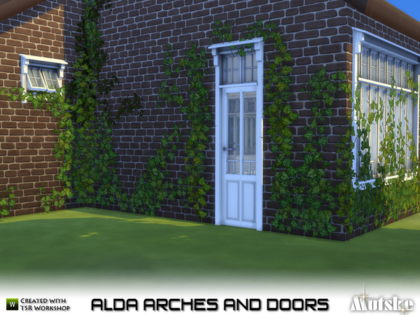 Alda Arches and Doors by mutske at TSR image 1118 Sims 4 Updates