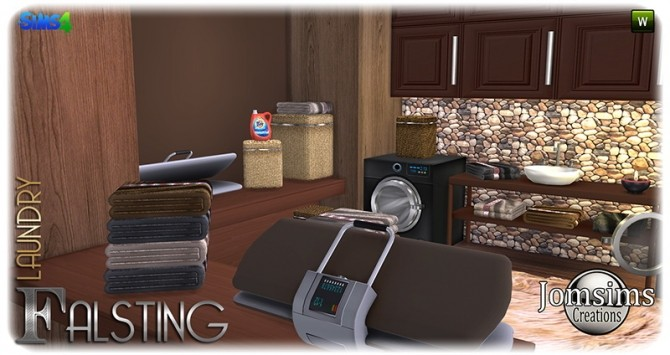 Falsting laundry at Jomsims Creations image 1126 670x355 Sims 4 Updates