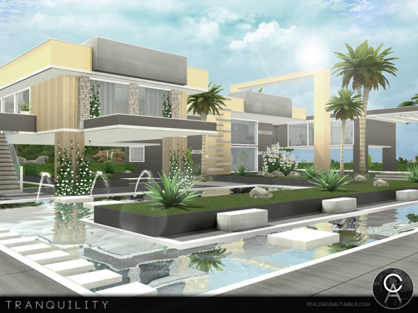 Tranquility house by Pralinesims at TSR image 1128 Sims 4 Updates
