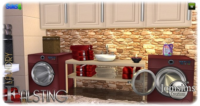 Falsting laundry at Jomsims Creations image 1135 670x355 Sims 4 Updates