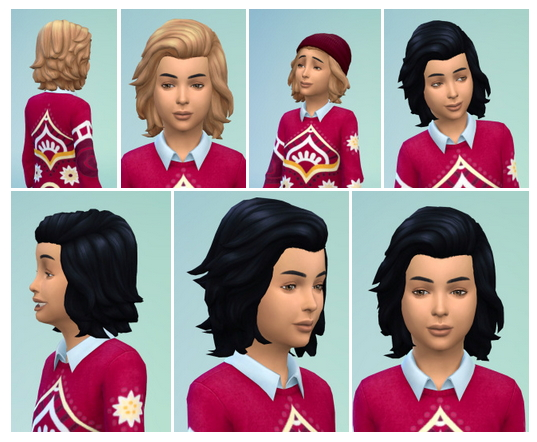 Citykids Hair at Birksches Sims Blog image 1142 Sims 4 Updates