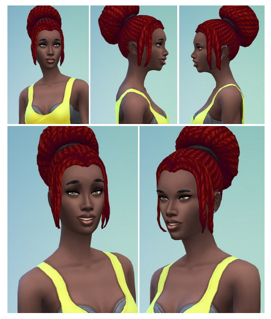Big City Bun with Bangs at Birksches Sims Blog image 1143 Sims 4 Updates