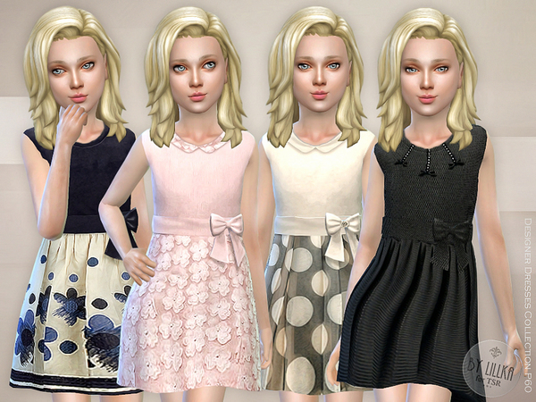 Sims 4 Designer Dresses Collection P60 by lillka at TSR