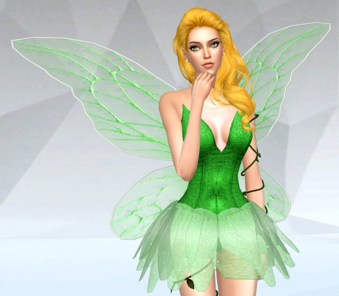 Fairy Dress At Silvermoon Sims 187 Sims 4 Updates