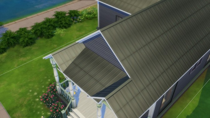 Metal Slates Roof by LaLunaRossa at About Sims image 11512 670x377 Sims 4 Updates