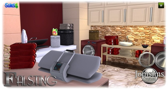 Falsting laundry at Jomsims Creations image 1155 670x355 Sims 4 Updates