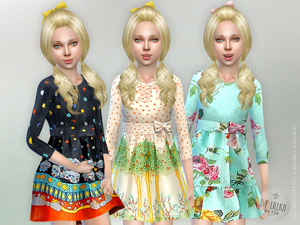 Sims 4 Designer Dresses Collection P61 by lillka at TSR