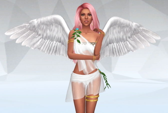 Angel Dress At Silvermoon Sims 187 Sims 4 Updates