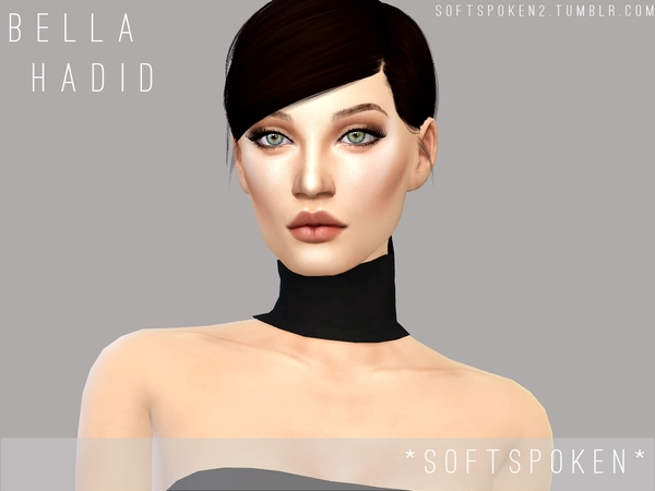 Bella Hadid by Softspoken at TSR image 1216 Sims 4 Updates
