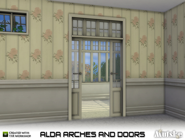 Alda Arches and Doors by mutske at TSR image 1219 Sims 4 Updates