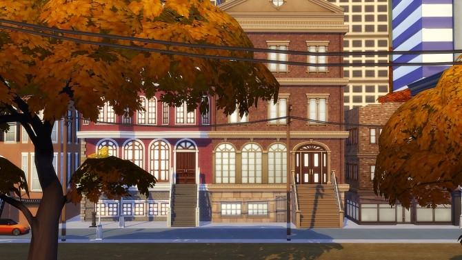 Sims 4 City Living autumn update at Dani Paradise