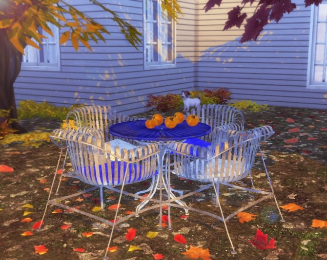 Garden Patio Set at Helen Sims image 125 670x534 Sims 4 Updates