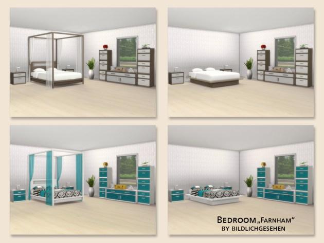 Farnham bedroom by Bildlichgesehen at Akisima image 1254 Sims 4 Updates