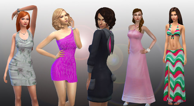 Sims 4 Female Body Clothes Pack 2 at My Stuff
