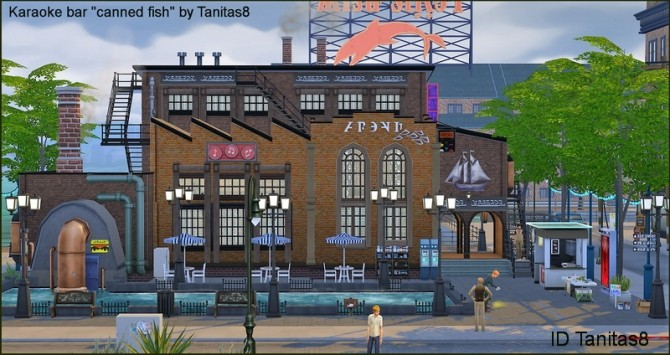 Karaoke bar canned fish NoCC at Tanitas8 Sims image 1279 670x355 Sims 4 Updates