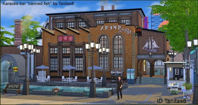 Karaoke bar canned fish NoCC at Tanitas8 Sims image 1289 670x355 Sims 4 Updates