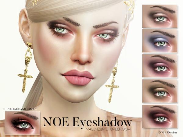 Sims 4 Noe Eyeshadow N36 by Pralinesims at TSR