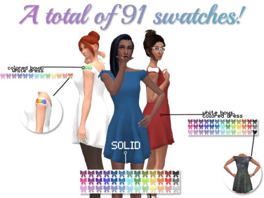 Strik Dress by xEenhoornx at SimsWorkshop image 1329 Sims 4 Updates