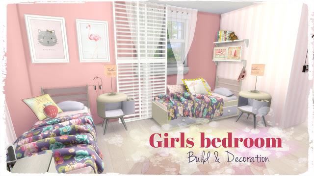 Girls Bedroom at Dinha Gamer image 1333 Sims 4 Updates