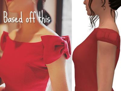 Strik Dress by xEenhoornx at SimsWorkshop image 1337 Sims 4 Updates
