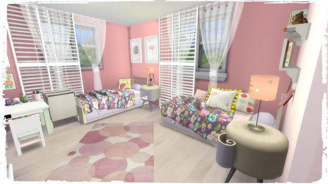Girls Bedroom at Dinha Gamer image 1353 Sims 4 Updates
