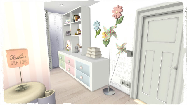 Girls Bedroom at Dinha Gamer image 1363 Sims 4 Updates