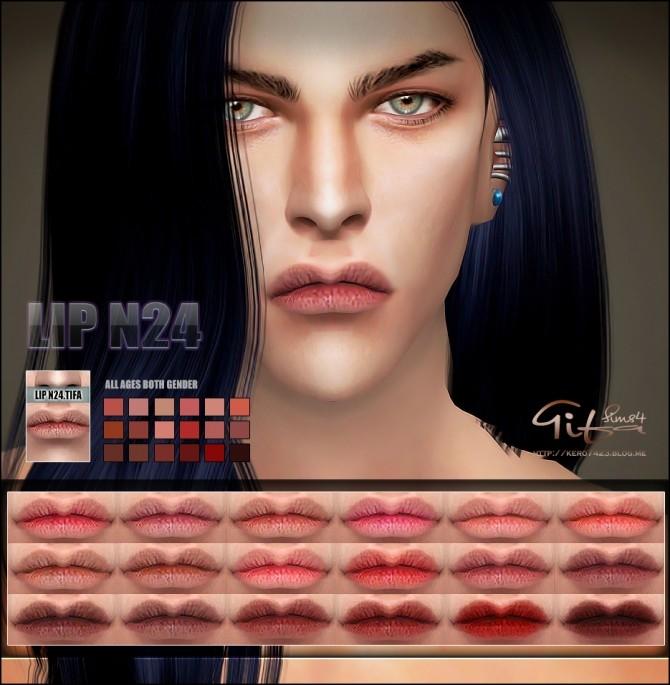 Sims 4 Lips N24 MF at Tifa Sims