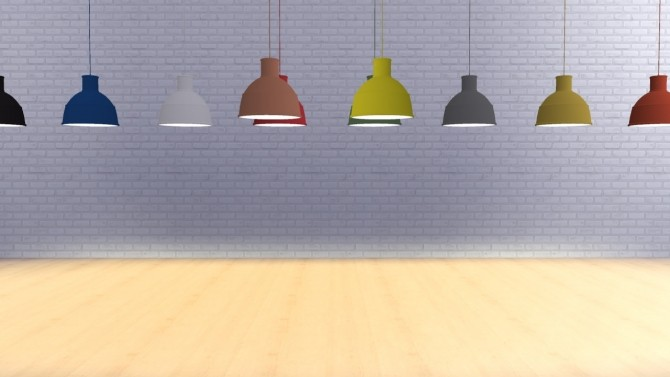 Sims 4 Pendant Lamp Update (Pay) at Meinkatz Creations