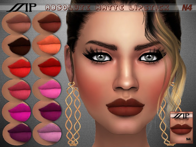 MP Absolute Matte Lipstick at BTB Sims – MartyP image 14111 Sims 4 Updates