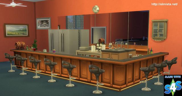 Decoholic Modular Bar at Simista image 1429 Sims 4 Updates