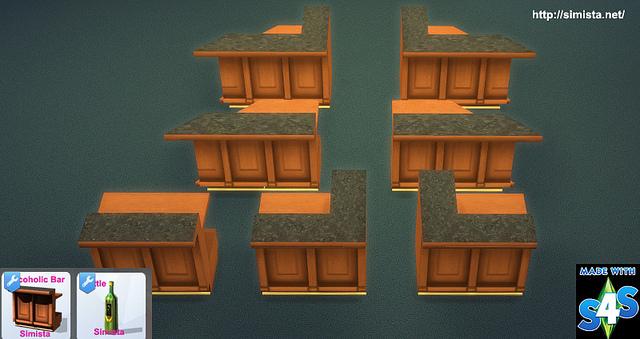 Decoholic Modular Bar at Simista image 1447 Sims 4 Updates