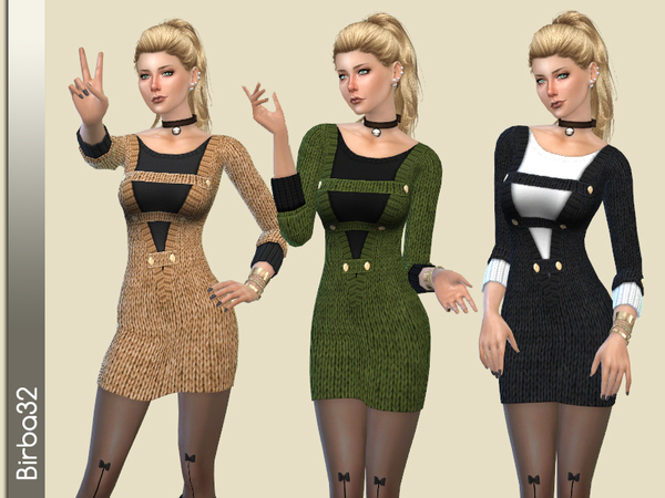 Military Style outfit by Birba32 at TSR image 1449 Sims 4 Updates
