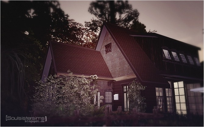Sims 4 Blackwoodforest house at SoulSisterSims
