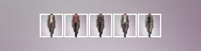 EP03 Robe With Ripped Jeans at Busted Pixels image 1473 670x170 Sims 4 Updates
