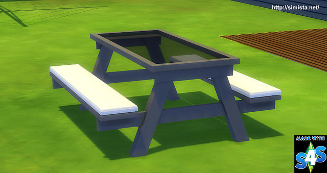 Glass Picnic Table at Simista image 1477 Sims 4 Updates