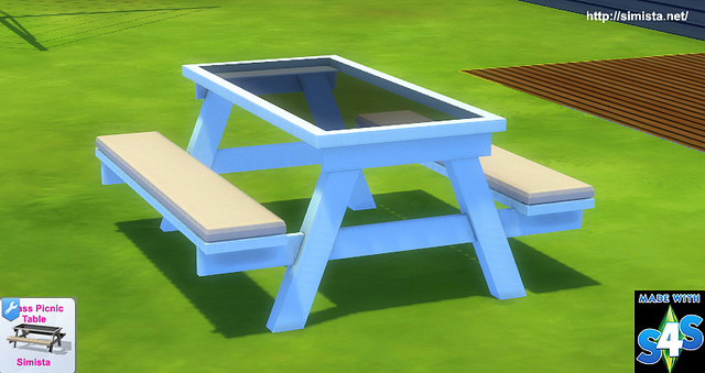 Glass Picnic Table at Simista image 1487 Sims 4 Updates