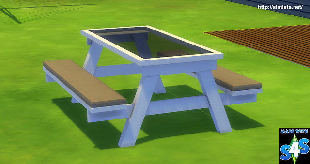Glass Picnic Table at Simista image 1497 Sims 4 Updates
