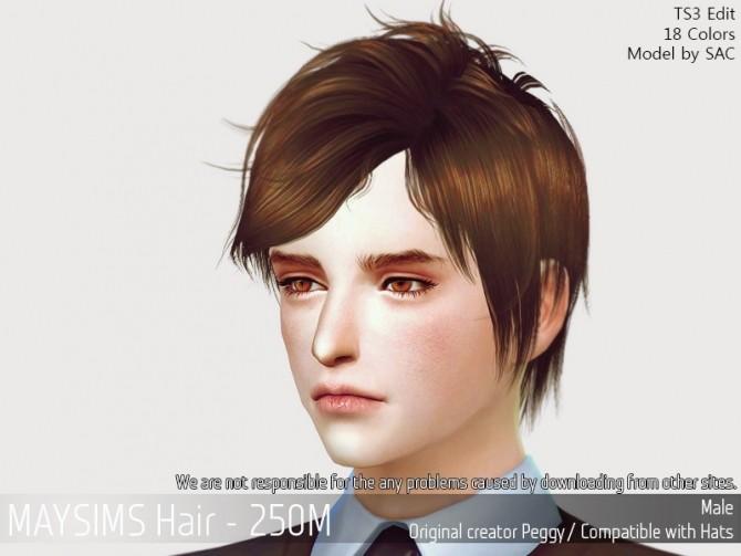 Sims 4 Hair 250M (Peggy) at May Sims