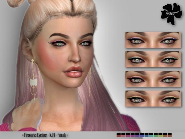 Sims 4 IMF Fireworks Eyeliner N.09 by IzzieMcFire at TSR