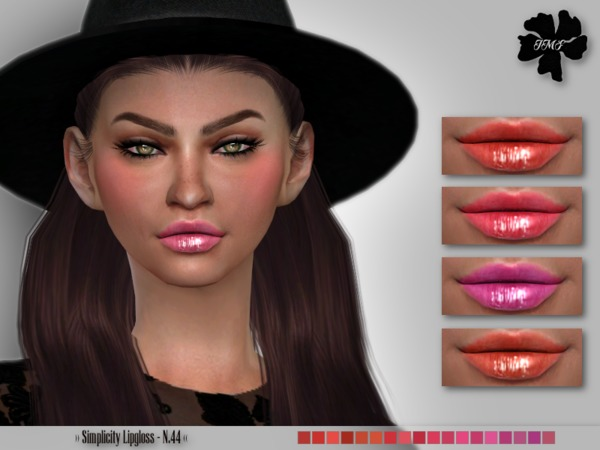 IMF Simplicity Lipgloss N.44 by IzzieMcFire at TSR image 1519 Sims 4 Updates
