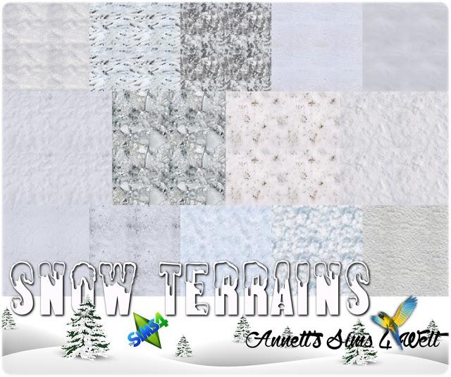 Snow Terrains at Annett's Sims 4 Welt image 152 Sims 4 Updates