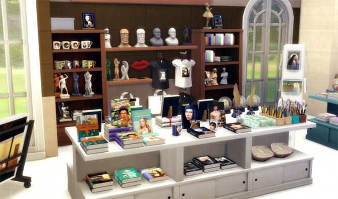 Museum great art exhibition shop objects by sandy at for Shop decoration items