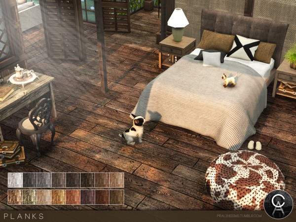 Planks by Pralinesims at TSR image 1628 Sims 4 Updates